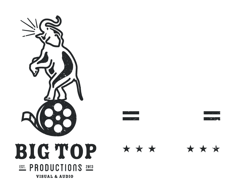 Big Top Productions Home Graphic